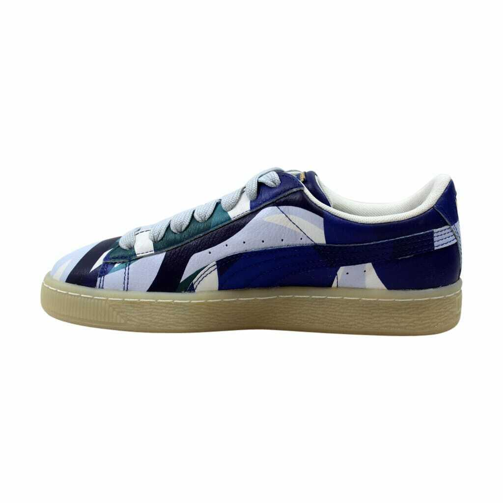 Puma Puma X Careaux Basketgraphic Twilight Blue-Halogen Blue 363435 01 Men's Siz