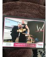 Topps WWE Road to Wrestlemania  Brock Lesnar - $1.50
