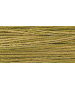 Olive (2211) 6 strand embroidery floss 5yd skein Weeks Dye Works - $2.25