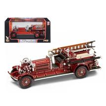 1925 Ahrens Fox N-S-4 Fire Engine Red 1/43 Diecast Car Model by Road Sig... - $28.71