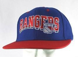 New York Rangers Blue/Red NHL Baseball Cap Snapback - $24.99