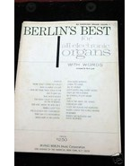 Berlin's Best for all Electronic Organs with words V #1 Book - $2.50