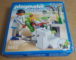 Playmobil City Life Dentist with Patient Set no 6662. Contents Sealed - $12.61