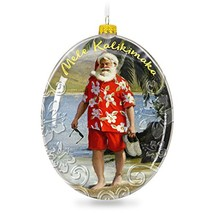 Hallmark Keepsake 2017 Mele Kalikimaka Hawaii Santa on the Beach Christmas - $21.88