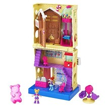 Pollyville Candy Store with 4 Floors, 2 Dolls and 5 Accessories - $19.44
