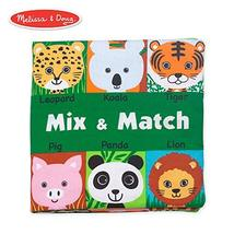 Melissa & Doug Soft Activity Baby Book - Mix and Match - $7.81