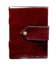 Prastara Handmade Belt Leather Goat Journal Pocket style 5x7 Blank Pages... - $35.00