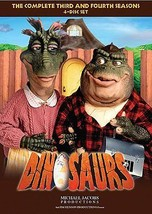 Dinosaurs Complete Series Third Fourth Seasons 3 4 Three Four DVD Set TV Disney - $36.62