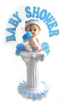 Baby Boy Shower Centerpiece Balloon Weight Table Decoration Keepsake 15.... - $14.84+