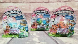 Hatchimals Hatchi-Mallows Wave 7 Squish Me Sweet Series Lot Of 3 Stress Reliever - $14.24