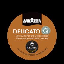 Lavazza Coffee Rivo Pack Espresso Delicato Keurig Rivo Pods 90 Count 5 18 ct box - $84.14