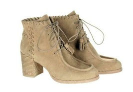 Stuart Weitzman Womens Wallawalla Suede Whip Stitch Booties Ankle Boots 9.5 - $174.79