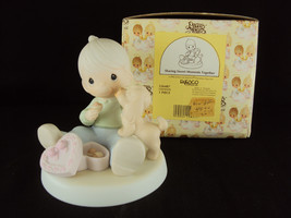 "Precious Moments, #526487, ""Sharing Sweet Moments Together"", Butterfly Mark - $39.95"