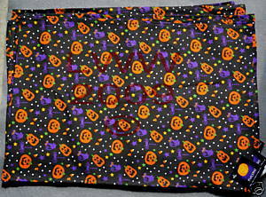 5 Jack-o-lantern & Cat Table Placemats Halloween New
