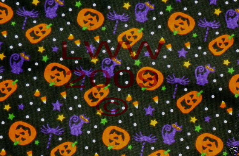 5 Jack-o-lantern & Cat Table Placemats Halloween New image 2