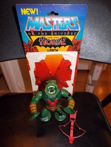Vintage 1984 Masters Of The Universe MOTU Leech Figure With Weapon & Car... - $19.99