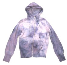 CUSTOM Womens DIESEL JEANS Hoodie Sweatshirt Tie Dye Finish sz S - $31.18