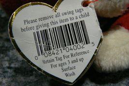"Vintage Ty Beanie Babies Snort "" The Bull "" Hang Tag/Tush Tag 1995 PVC Pellets image 9"