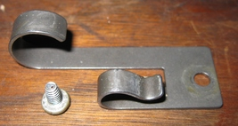 Singer Touch & Sew Arm Cover Spring Clip #141246 w/Mounting Screw - $7.50