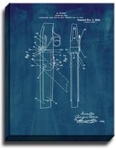 Sporting Gun Patent Print Midnight Blue on Canvas - $39.95+
