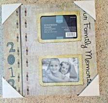"Photo Frame Our Family Memories 11"" New 2012 - €13,79 EUR"