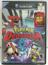 POKEMON COLOSSEUM Nintendo Game Cube Game AUTHENTIC Working Black Label ... - $134.96
