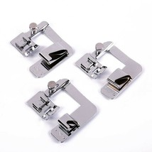 Sewing Machine Accessories 3pcs Foot Sets Presser Attachment Press Feet ... - $21.97