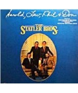 The Statler Brothers Harold, Lew, Phil & Don LP - $10.00