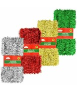 Christmas House Tinsel Garland, 50 ft. Red In time for upcoming season o... - $7.00