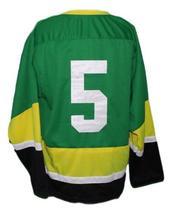 Custom Name # Team Ireland Irish Retro Hockey Jersey New Green Any Size image 2