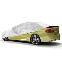 SilverCoat Heat Blocking Adjustable Sun Reflective All-Weather Car Cover - $58.41