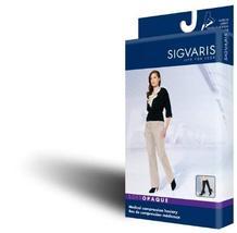 Sigvaris Women's Soft Opaque 840 Closed Toe Thigh High w/Grip-Top 20-30mmHg - $90.36
