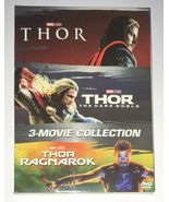 THOR 3-Movie Collection [DVD Box Set New] 1-3 Complete Trilogy 1 2 3  - $29.99