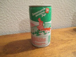 Tennessee TN Turning 7up vintage pop soda metal can Hiking Great Smokies - $10.99