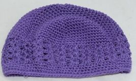 Unbranded Infant Toddler Purple Hat Stretch Removable Bow Multicolor image 6