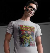 The Monster of Frankenstein T Shirt retro 70s marvel comics Legion of Monsters image 3