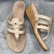 UGG Orchard (Beige) Leather Wedge Sandal, MADDIE, S/N 1016660, Women Siz... - $69.00