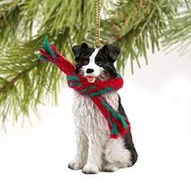 Conversation Concepts Border Collie Miniature Dog Ornament - $10.99