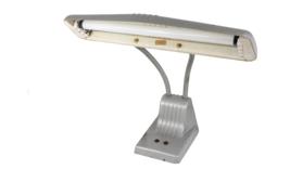 Vintage 70s Mid Century Modern MCM Goose Neck Drafting Table Lamp Light ... - $79.15