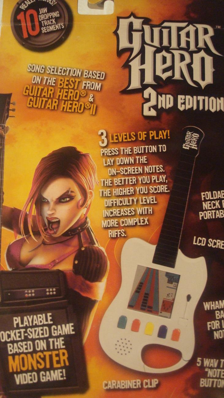 Guitar Hero 2nd Edition Handheld Game