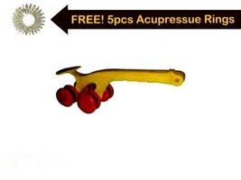 Calves Spine Roller Yoga Massager For Body Pain Reliver -Acupressure The... - $733,80 MXN