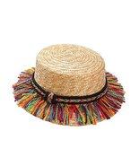 Gentle Meow Baby Girl Hat Summer Beach Sun Hat Straw Hat 3-8 Year Old,Ta... - $19.80