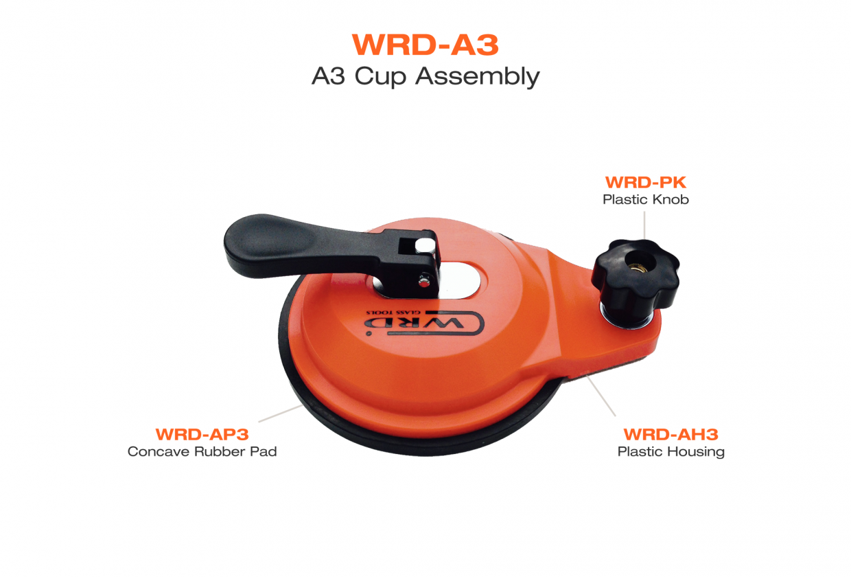 Primary image for WRD-A3 Anchor Cup With Concave Rub Pad windshield