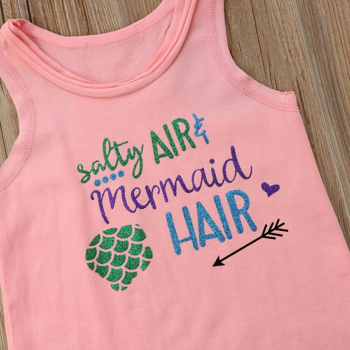 Kid Baby Girl Sleeveless Beach Princess Top Dress Summer Sundress Clothes Outfit
