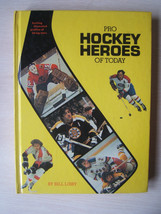 Pro Hockey Heroes of Today Hardcover Book Lafleur Esposito Hull Park Cla... - $15.36