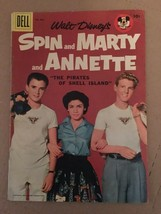 Walt Disney's Spin & Marty & Annette #826 1957 Dell Comic Book VG 4.0 Condition - $31.84
