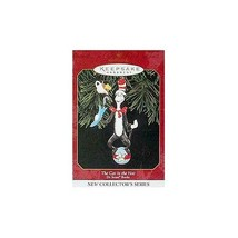 1999 Hallmark Ornament The Cat In The Hat # 1 Dr. Seuss Books - $19.65