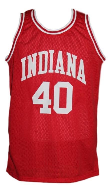 Cody zeller  40 college basketball jersey red   1