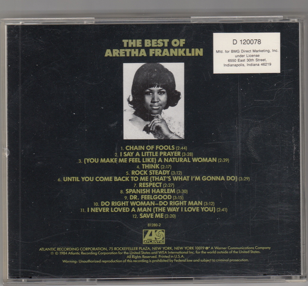 Aretha Franklin~The Best Of