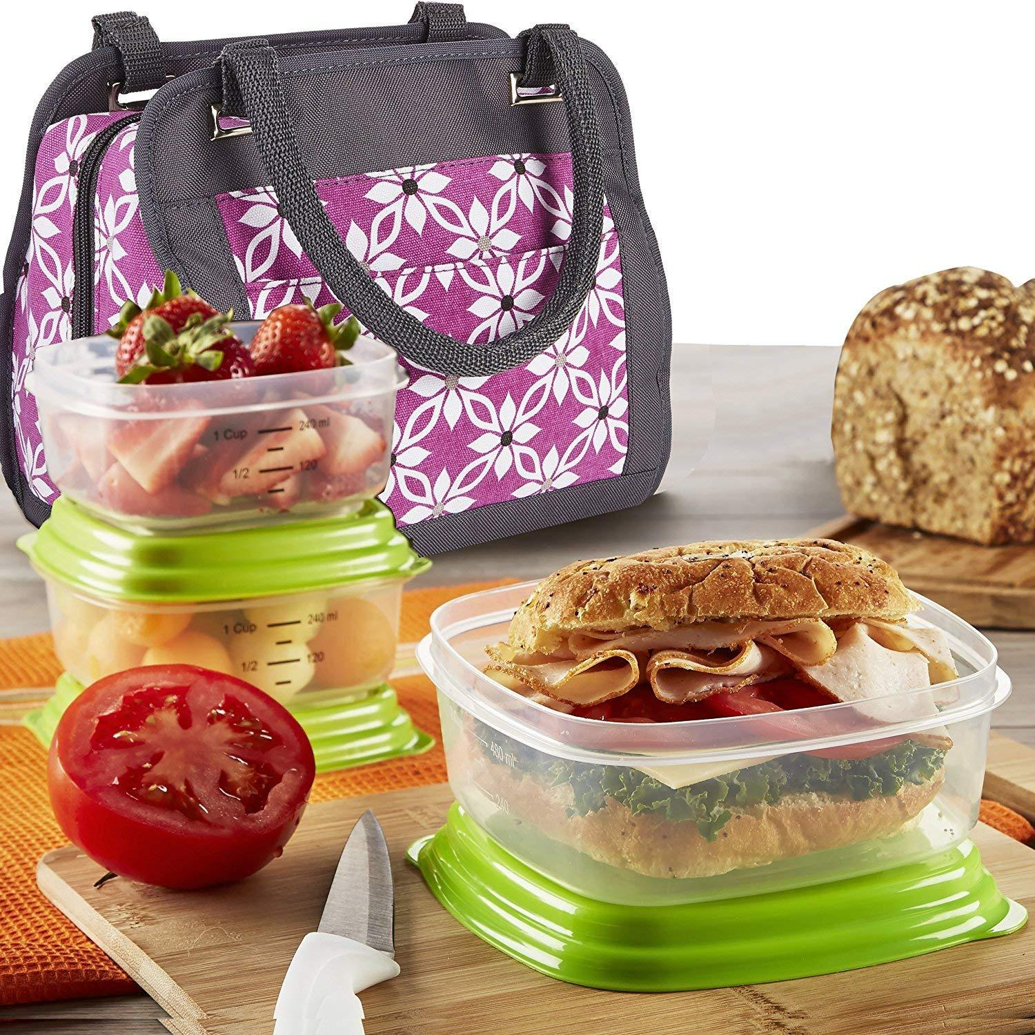 ea4a8bdc503b Fit & Fresh Ashland Lunch Bag Kit with and 50 similar items